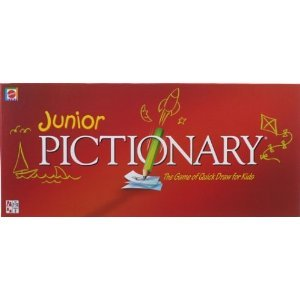 Pictionary Words Junior Classic Game - Learning Game for Kids