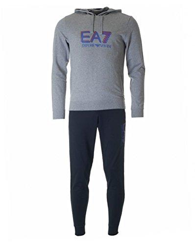EA7 Emporio Armani 6XPV54 PJ05Z 29BA tuta grigio/blu