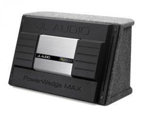 Jl Audio Pwm112-Jxwx One 12Wx-4 In A Sealed Enclosure, Rear-Firing, Gray Carpet Finish. Includes Jx-250/1 Amplifier.