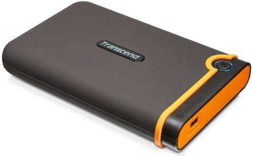 Transcend TS1TSJ25M2 1TB USB2.0 StoreJet M2 Military Grade Shock Resistance External HDD