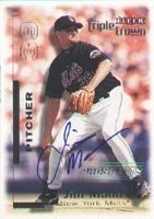 Jim Mann Norfolk Tides - Mets Affiliate 2001 Fleer Triple Crown Prospects Autographed... by Hall of Fame Memorabilia