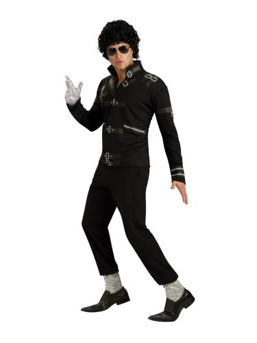 Rubies Mens Michael Jackson Costume Bad Jacket