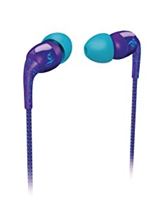 Philips O'Neill SHO9554/28 Sound-Isolating In-Ear Headphones (Royal Specked Purple) (Discontinued by Manufacturer)
