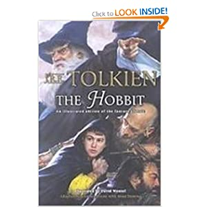 The Hobbit: An Illustrated Edition of the Fantasy Classic by Charles Dixon, Sean Deming, J. R. R. Tolkien and David Wenzel