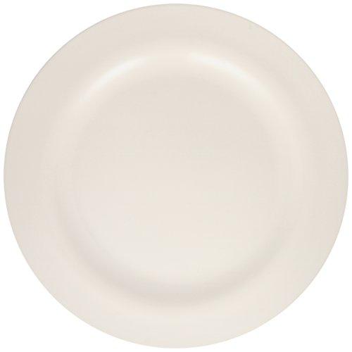 Zakdesigns 1313-0849 BBQ Plat de Salade Mélamine Blanc 45 x 35 x 25 cm