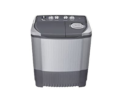 LG P7555R3FA Semi-automatic Top-loading Washing Machine (6.5 Kg, Dark Grey)