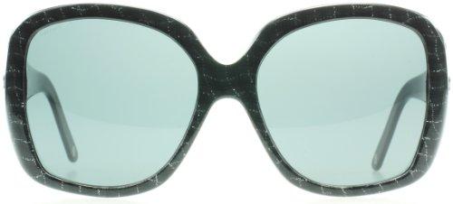 da95aa45d824 Versace 4219 957/87 Black Web Silver 4219 Square Sunglasses