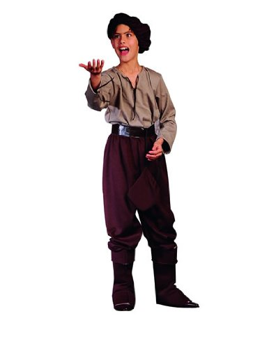 Child's Renaissance Peasant Boy Halloween Costume (Size: Medium 8-10)