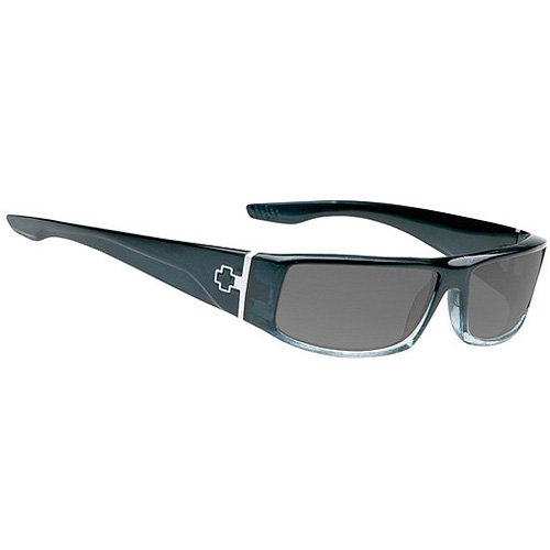 Spy Cooper Sunglasses - Spy Optic Steady Series Racewear Eyewear - Color: Black Fade/Grey, Size: One Size Fits All