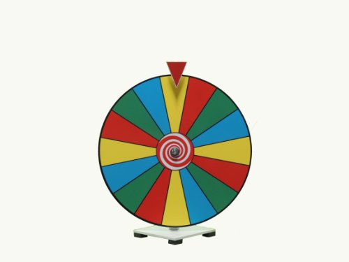 Lowest Price! 16 Inch Dry Erase Spinning Prize Wheel