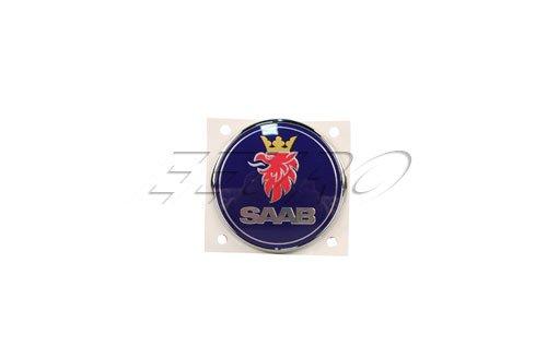 saab-9-3-sedan-trunk-emblem-new-oem-rear-deck-lid-insignia-logo-badge