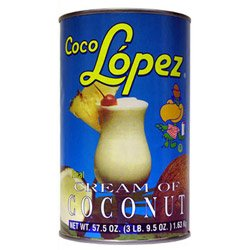Coco Lopez 57 Ounce Coconut Cream 12 pack (03-0336) Category: Cocktail Drink Mixes (Coco Lopez Cream Of Coconut compare prices)