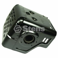 Stens # 105-701 Muffler With Shield For Honda 18310-Ze2-W00, Honda 18320-Ze2-W01Honda 18310-Ze2-W00, Honda 18320-Ze2-W01