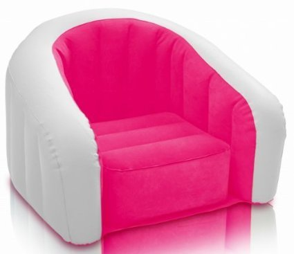 Intex Inflatable Air PVC Junior Cafe Club Chair Color May Very