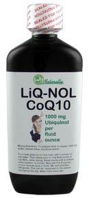 LiQ-NOL CoQ10 with Ubiquinol the