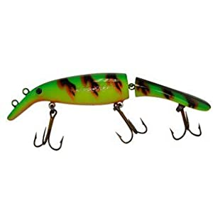 Musky Mania Jointed Believer, Fire Tiger, 8-Inch