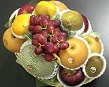 □【築地の某高級果物店の職人が作る】 季節(10月)のフルーツバスケット(フルーツ7種入り) ランキングお取り寄せ