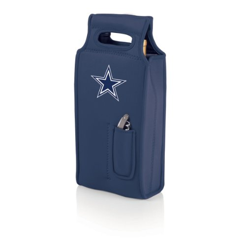 Nfl Dallas Cowboys Samba 2-Bottle Neoprene Wine Tote Bag front-602368