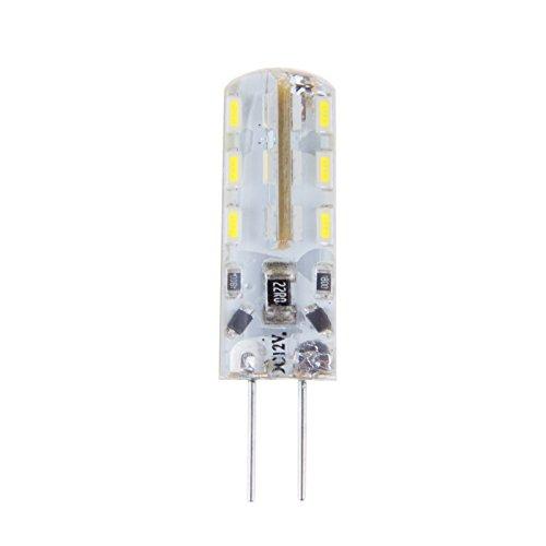 Sunsbell®4 X G4 Base 12V 24 Led Bulbs 360 Degree Led Lighting 20W Halogen Light Bulb Replacement Cool White