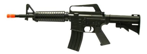 Well Mr711 Spring M4 Rifle Fps-275 Airsoft Gun