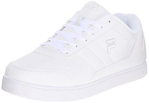 Fila Men's New Sarasota Fashion Sneaker, White/White/White, 10 M US