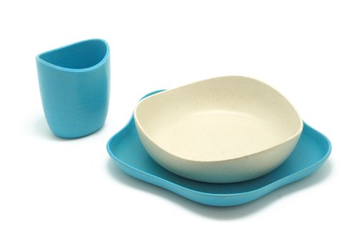 BecoThings BecoFeeding Set Pappa Ecologico, Blu