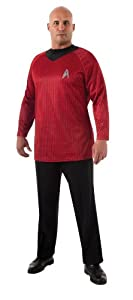 Rubie's Costume Plus-Size Star Trek Into Darkness Deluxe Scotty Shirt Costume