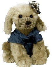 Ty Attic Treasures Carey the Dog - 1