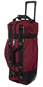Club Glove Rolling Duffle 2 Burgundy by Club Glove
