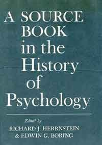 A Source Book in the History of Psychology (Source Books in the History of the Sciences)