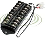 DSC-TB01,Splits 1 Input to 8 Out, 8 Way Terminal Block Bus Bar