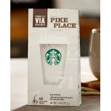 Starbucks VIA Ready Brew Pike Place Roast Coffee 12 Count from Starbucks