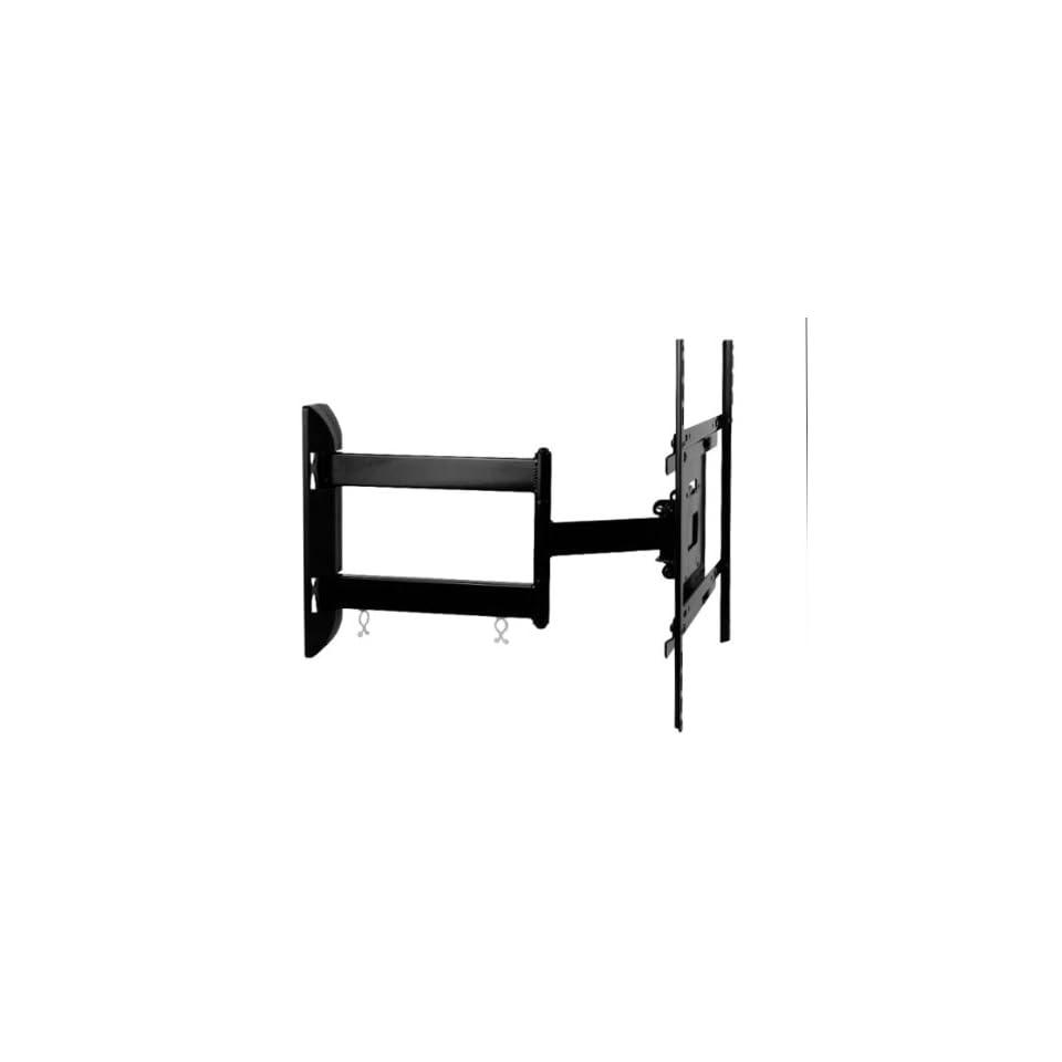 2xhome   Full Motion Articulating Swivel ARM Corner Single Stud Tilt LCD LED Tv Monitor Wall Mount 14 22 32 36 40 42 55