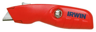 5 Pack Irwin 2088600 Self-Retracting Safety Utility Knife