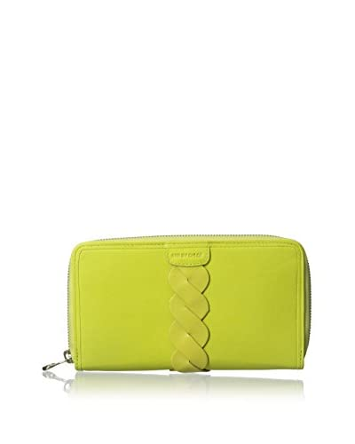 See by Chloé Women's Leather Wallet, Lemon