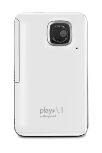 Kodak PlayFull Waterproof Video Camera (White)