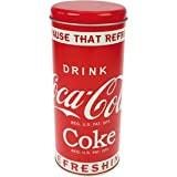 Coca Cola Metalldose-Dose rund mit Deckel, 18 x 7 cmvon &#34;Coca Cola&#34;