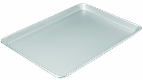 Chicago Metallic 49813 16-3/4 by 12-Inch Commercial II Traditional Uncoated Large Jelly Roll Pan