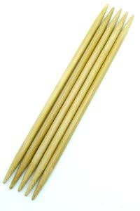 Bamboo Double Pointed Knitting Needles (13cm) 2.25mm