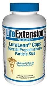 LuraLean® Caps Special Propolmannan Particle Size, 120 vegetarian capsules