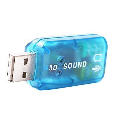 DTOL 5.1 External USB Audio Sound Card Adapter For PC Notebook