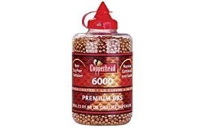 Crosman Copperhead 6000 Copper Coated BBs in a Bottle