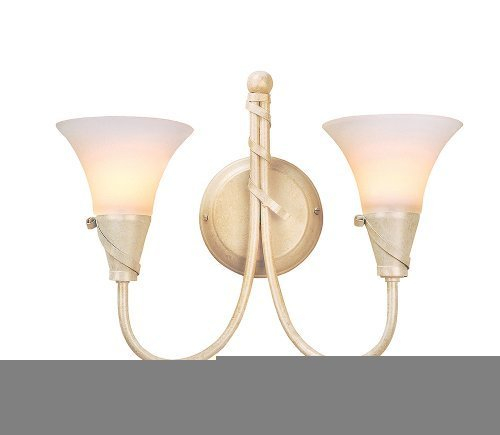 Elstead Emily EM2 IV/GLD Traditional Wall Lights Double