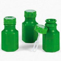 Fun Express Mini Hexagon Green Bubble Bottles (4 Dozen)