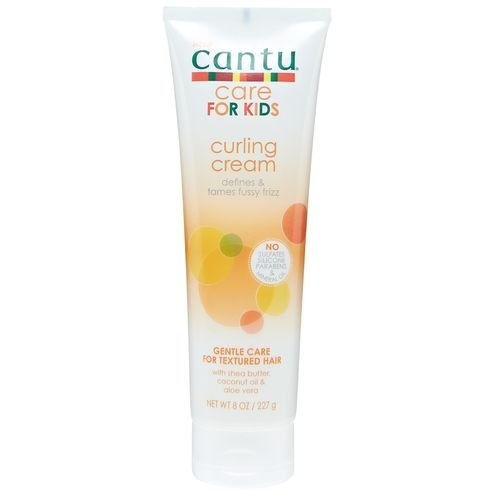 New! Cantu Care for Kids Curling Cream Defines & Tames Fussy Frizz DUO SET – Set of 2 – 8 oz.