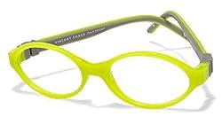 Vincent Chase Flex VC 8030 Light Green Grey C1 Kids' Eyeglasses (Kids 6-10 yrs)