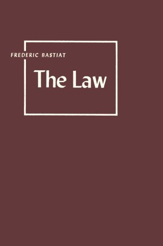 The Law [Bastiat, Frederic] (Tapa Blanda)