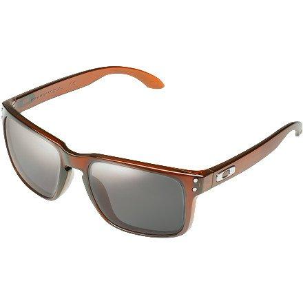 Oakley Holbrook Sunglasses - Polarized Polished Rootbeer/Grey, One Size