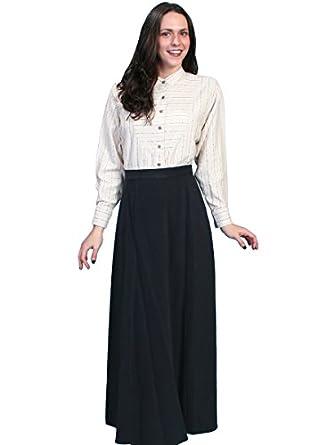Brushed Twill Skirt  AT vintagedancer.com