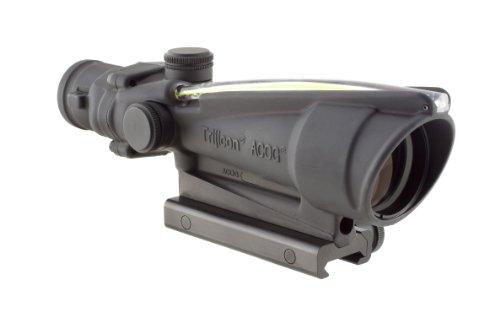 Trijicon Acog Dual Illum Crosshair .300 Blackout Ballistic Reticle, 4X 32Mm, Amber